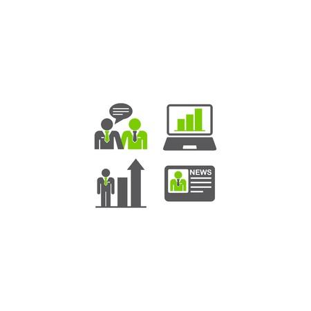 Trade Template Icon Stockfoto