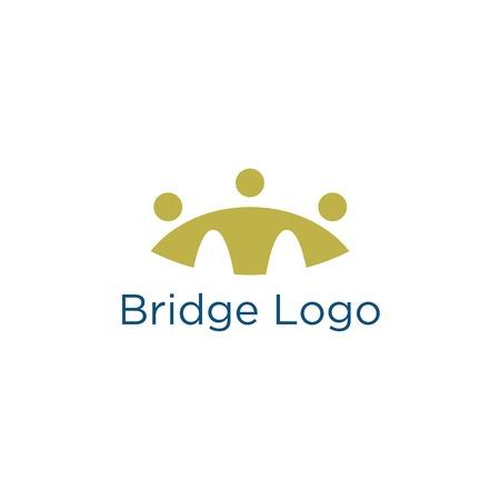historic building: Bridge Building Logo Template