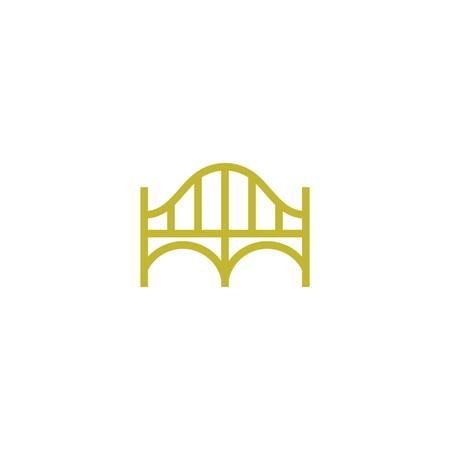 Bridge Building Logo Template