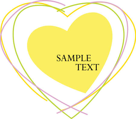 Valentine Text Vector