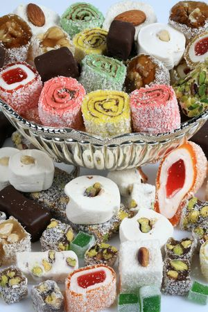 turkish delight Stock Photo