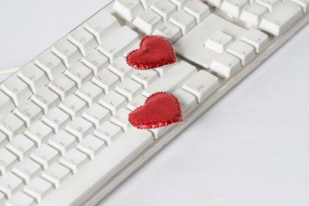 keyboard love photo