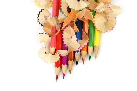 pencil background Stock Photo - 5503051