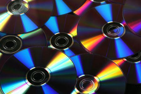 megabytes: cd background Stock Photo