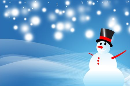winter background Stock Photo - 6481426