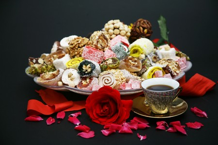 energy and power resources of its own Turkish delight Stock Photo