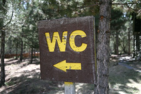 wc: wc sign