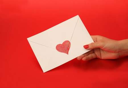 emotional heart design crafted Valentine's Day Stock Photo - 8742774