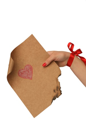 emotional heart design crafted Valentine's Day Stock Photo - 8742939