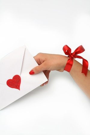 emotional heart design crafted Valentine's Day Stock Photo - 8743010