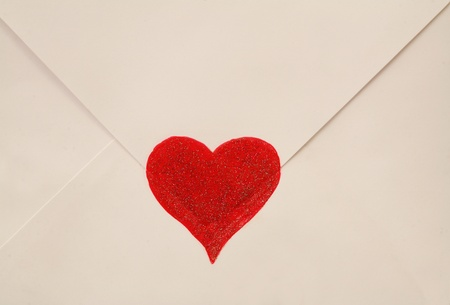 emotional heart design crafted Valentine's Day Stock Photo - 8853086