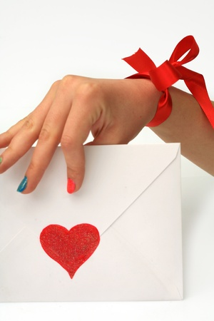 emotional heart design crafted Valentine's Day Stock Photo - 8853074