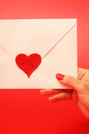 emotional heart design crafted Valentine's Day Stock Photo - 8856554