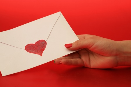 emotional heart design crafted Valentine's Day Stock Photo - 8933196