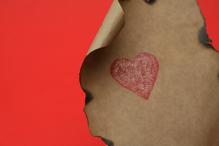 emotional heart design crafted Valentines Day photo