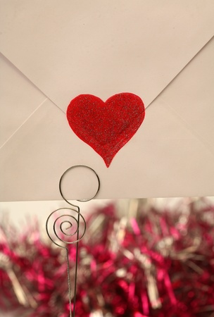 emotional heart design crafted Valentine's Day Stock Photo - 9332752
