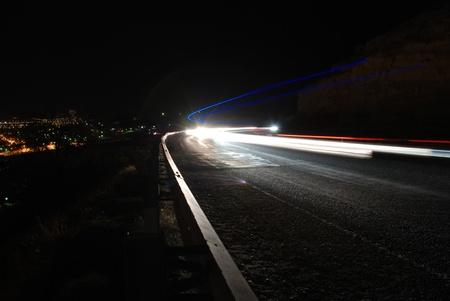 traffic lights in motion blur Stock Photo - 10391203