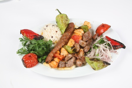 turkey meat dishes made ​​from an image of the traditions of Stock Photo
