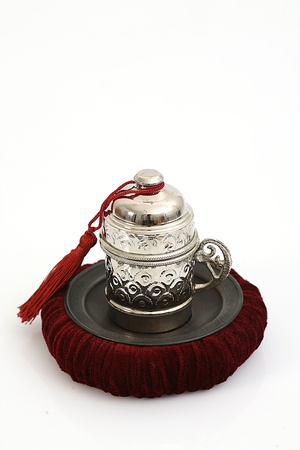 Ottoman culture image of coffee cups photo