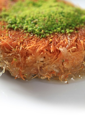baklawa: Turkish cuisine is a unique kind of sweet Stock Photo