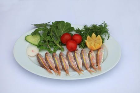 good for your health in a fish feast Stock Photo - 12305030