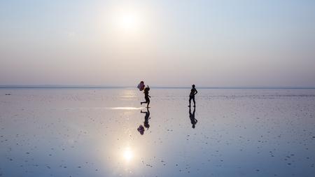 solitude: Live at sunset in Salt Lake