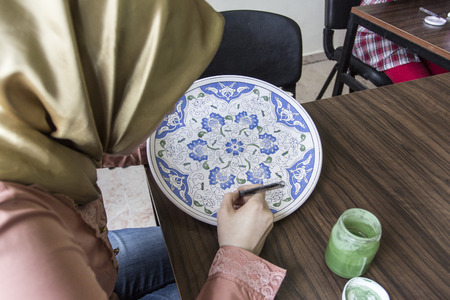 seljuk: The Seljuk civilization, Turkish tile and ceramic art of the application.