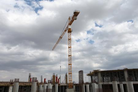 tower crane: tower crane Editorial