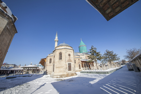 selcuklu: Images from the Mevlana Museum in Konya Editorial