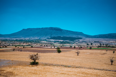 konya: farmland in konya