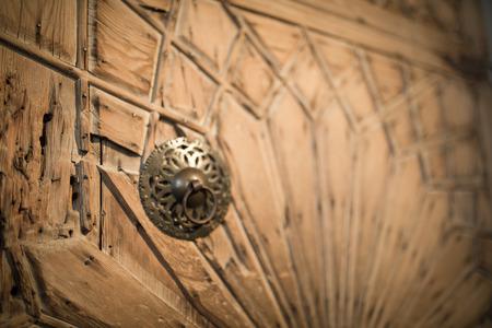 konya: door decoration in Karatay madrasa