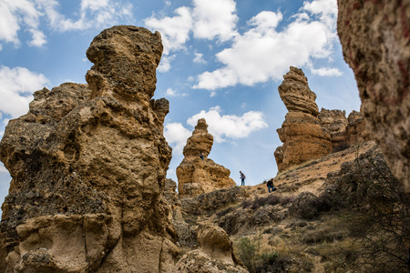 geological formation: a geological formation in Konya.