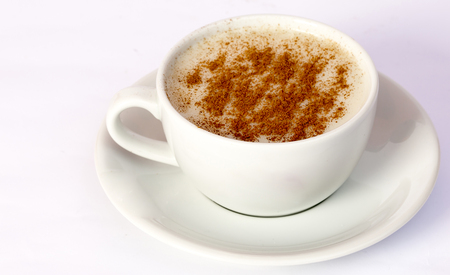 Salep with cinnamon