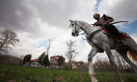 his horse who are interested in Turkish
