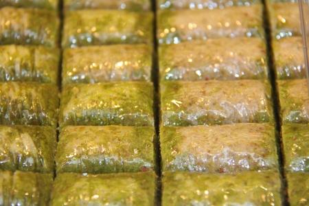 turkish dessert: Traditional Turkish dessert Baklava