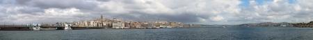 byzantium: Galata Bridge-istanbul