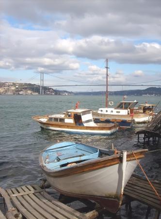 bosphorus: Bosphorus bridge in Istanbul Turkey  Stock Photo