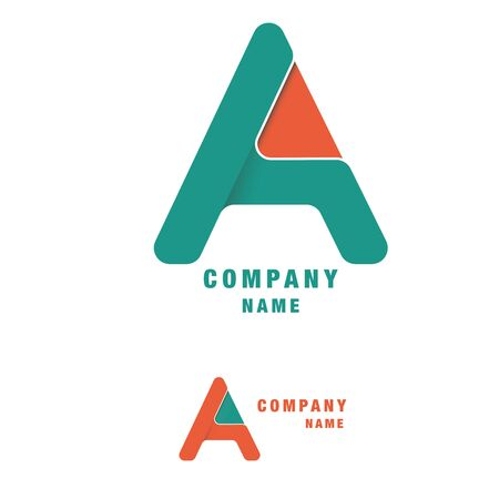 Letter A Logo Designs. Abstract, background.