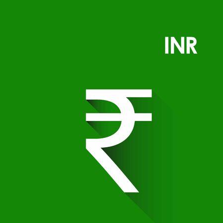 Indian Rupee icon vector symbol