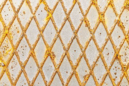Metal triangular background Imagens