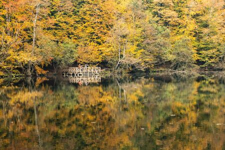 The Yedigoller Seven Lakes National Park is in the north of the Bolu province, and south of Zonguldak in the western Black Sea region.