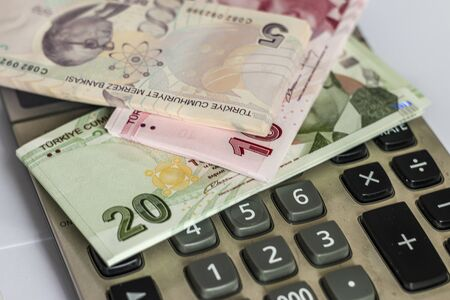 Turkish Lira, Turkish Money Stok Fotoğraf