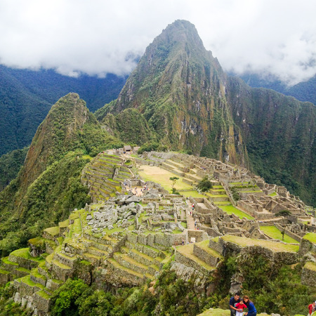 backgraound: Machu Picchu