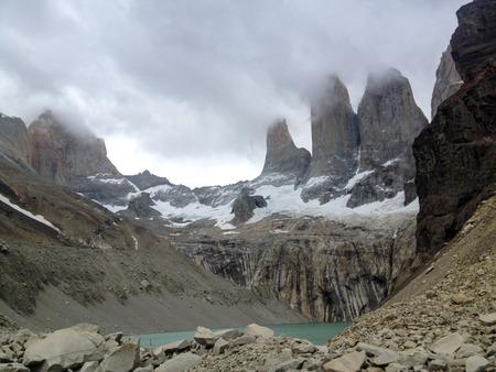 paine: Torres del Paine Stock Photo