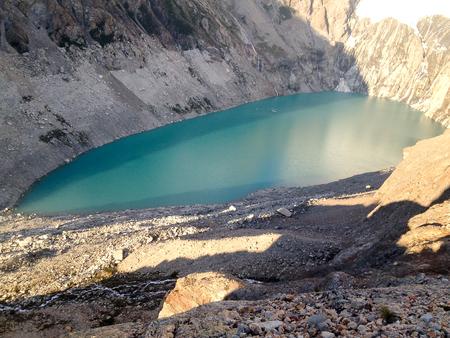 ice mountain argentina.