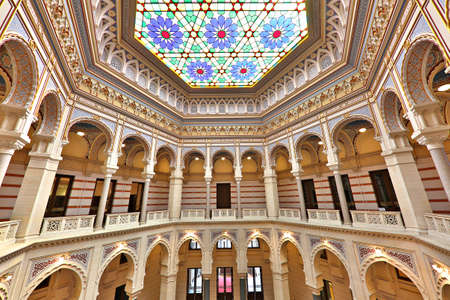 National and University library, which was former town hall, in Sarajevo, Bosnia and Herzegovina Editorial