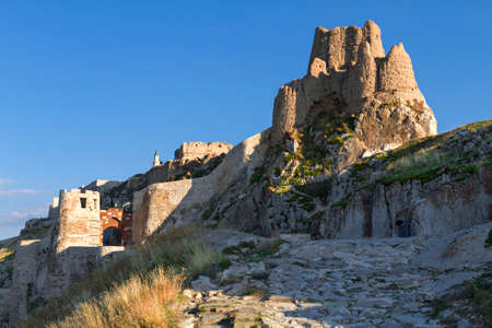 Ancient castle of Van in Turkey, known also as Tushba Castle, built by the Urartians.