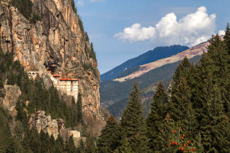 Sumela Monastery which is a Greek Orthodox Monastery, founded in the 4th century, Trabzon, Turkey