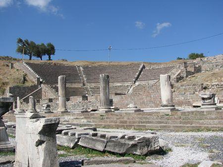 Pergamon,Asclepion-amphitheater