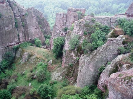 Bulgaria-Stara planina mn.,Belogradtchik rocks